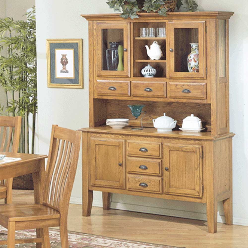 Intercon Cambridge Two Piece China Cabinet - Item Number: C5636B+5447H-CB