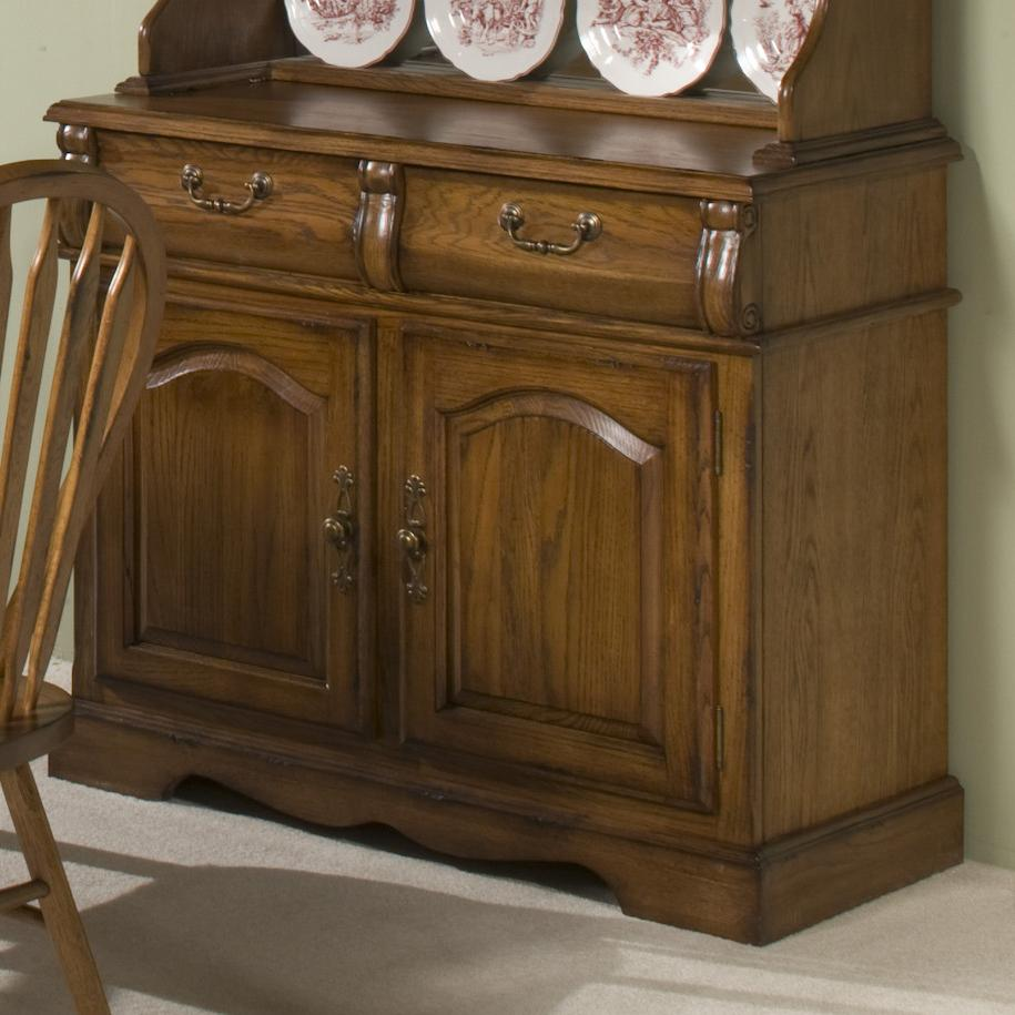 "Intercon Classic Oak 42"" Buffet - Item Number: CO-CA-2250-BRU-BSE"