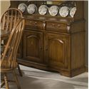 "Intercon Classic Oak 3-Door, 3-Drawer 60"" Buffet - Item Number: CO-CA-3050-BRU-BSE"