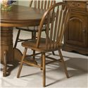 Intercon Classic Oak Dining Side Chair - Item Number: CO-CH-253SH-BRU-SU