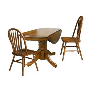 Intercon Classic Oak 3 Piece Dining Set