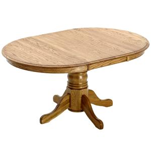 Intercon Classic Oak Pedestal Dining Table