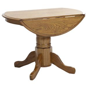 "Intercon Classic Oak 42"" Pedestal Table"