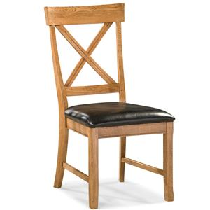 Dining Chair with X-Back