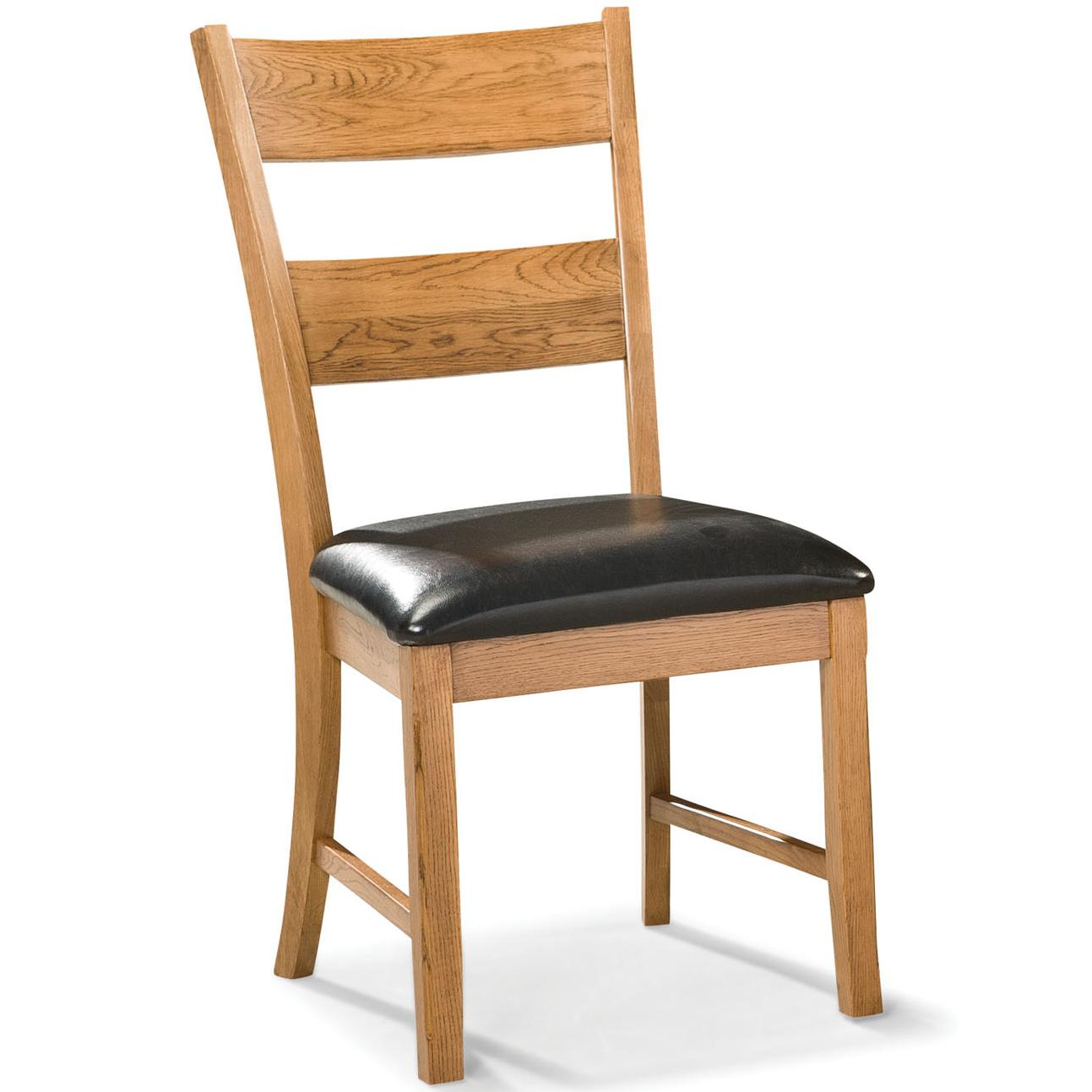 Intercon Family Dining Dining Chair with Ladder Back - Item Number: FD-CH-169C-CNT-RTA