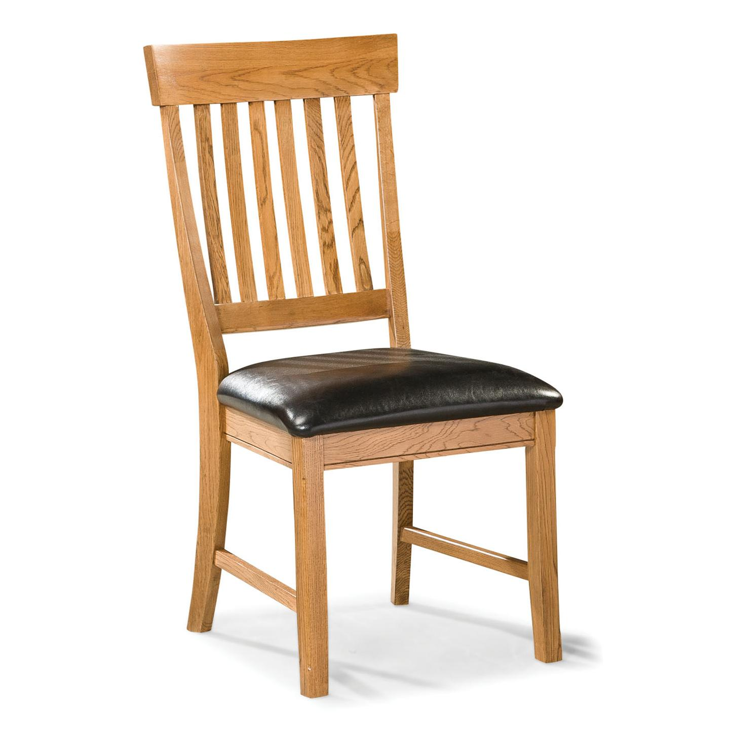 Intercon Family Dining Dining Chair with Slat Back - Item Number: FD-CH-180C-CNT-RTA