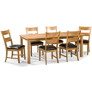 Intercon Family Dining 7 Piece Dining Set