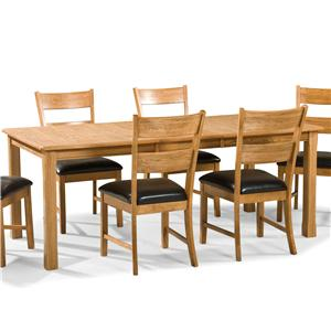 Intercon Family Dining Leg Dining Table
