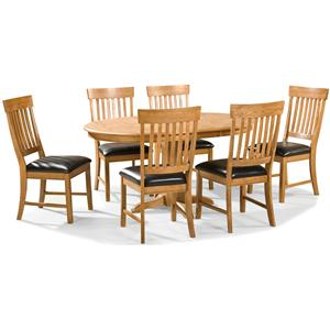 Intercon Family Dining 7 Piece Dining Set