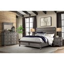 Intercon Forge Queen Bedroom Group - Item Number: FG-BR Q Bedroom Group 2