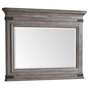Rustic Industrial Dresser Mirror