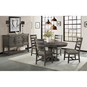Intercon Foundry Casual Dining Room Group