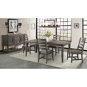 VFM Signature Foundry Casual Dining Room Group - Item Number: FR Dining Room Group 3