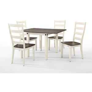 Intercon Glennwood 5 Piece Dining Set