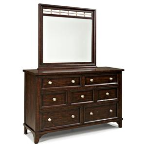 Intercon Hayden Dresser and Mirror