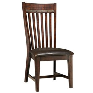Intercon Hayden Slat Back Side Chair