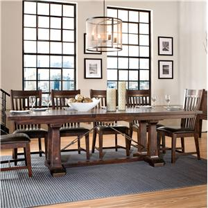 Intercon Hayden Trestle Dining Table