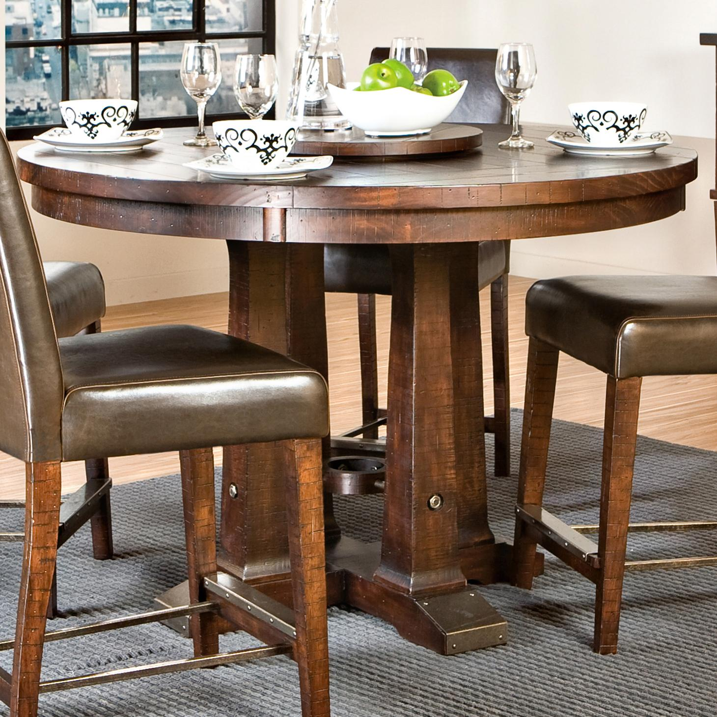 Intercon Hayden Gathering Table - Item Number: HY-TA-5454G-RSE-BSE+TOP