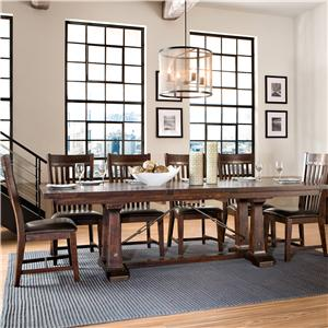 Intercon Hayden 7 Piece Table & Chair Set