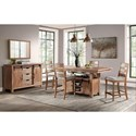 Intercon Highland Casual Dining Room Group - Item Number: HI Dining Room Group 2