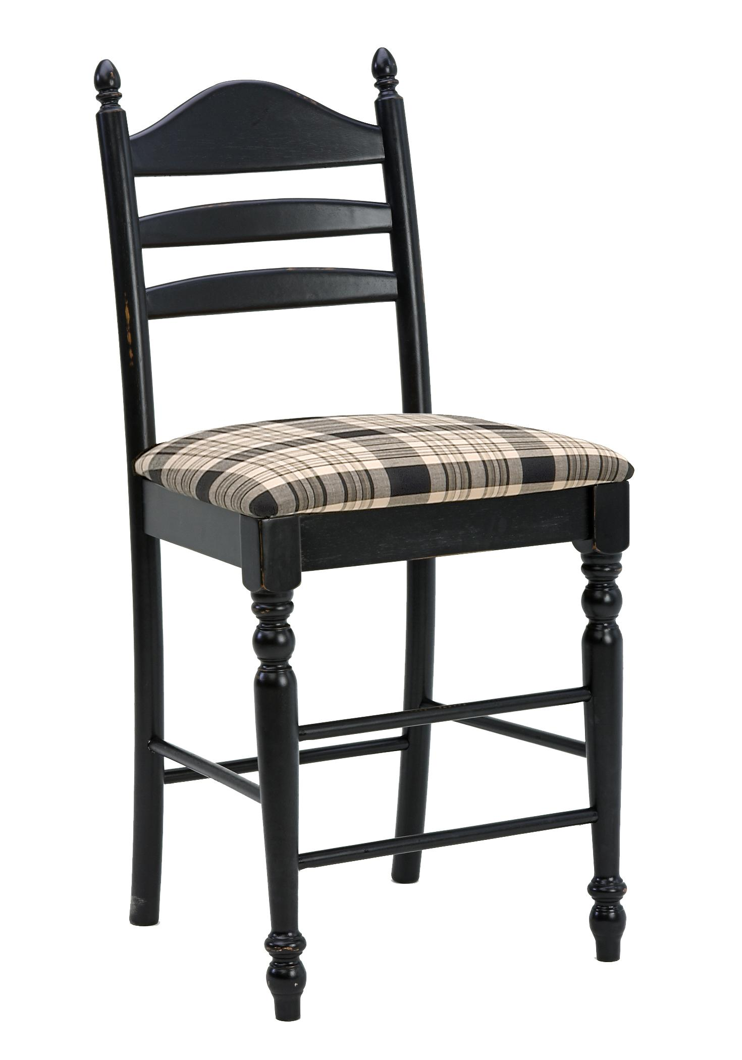 Intercon Hillside Village 24quot Ladder Back Bar Stool Rife  : products2Fintercon2Fcolor2Fhillside20village20hvhv bs 489c blk k24 b from www.rifeshomefurnitureonline.com size 1470 x 2100 jpeg 150kB