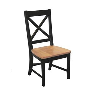 "Intercon Hillside Village  ""X-Back"" Side Chair"