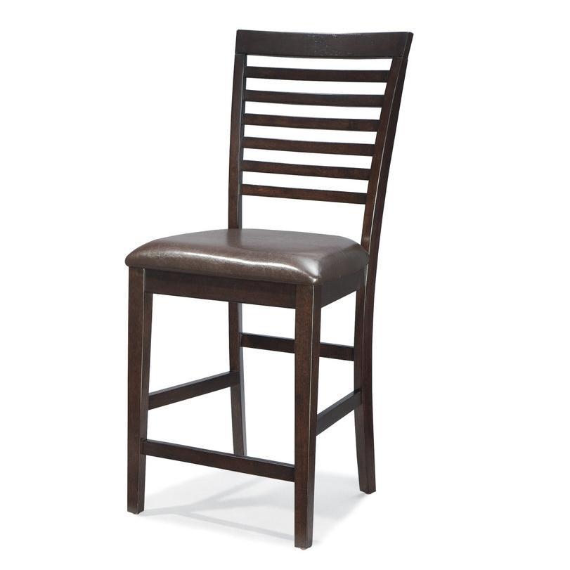 Intercon Kashi Kashi Ladder Back Bar Chair - Item Number: KI-BS-989C-CHA-K24