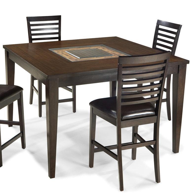 Intercon Kashi Kashi Gathering Table - Item Number: KI-TA-5454G-CHA-C