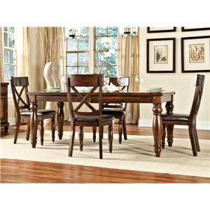 Intercon Caprice Caprice Table + 4 Chairs