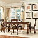 Intercon Caprice Table + 4 Chairs