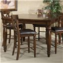Intercon Kingston  Gathering Table - Item Number: KG-TA-5454G-RAI-C
