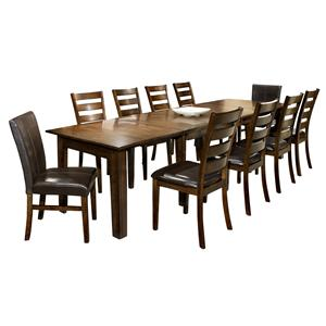 Intercon Kona 11-Piece Dining Set