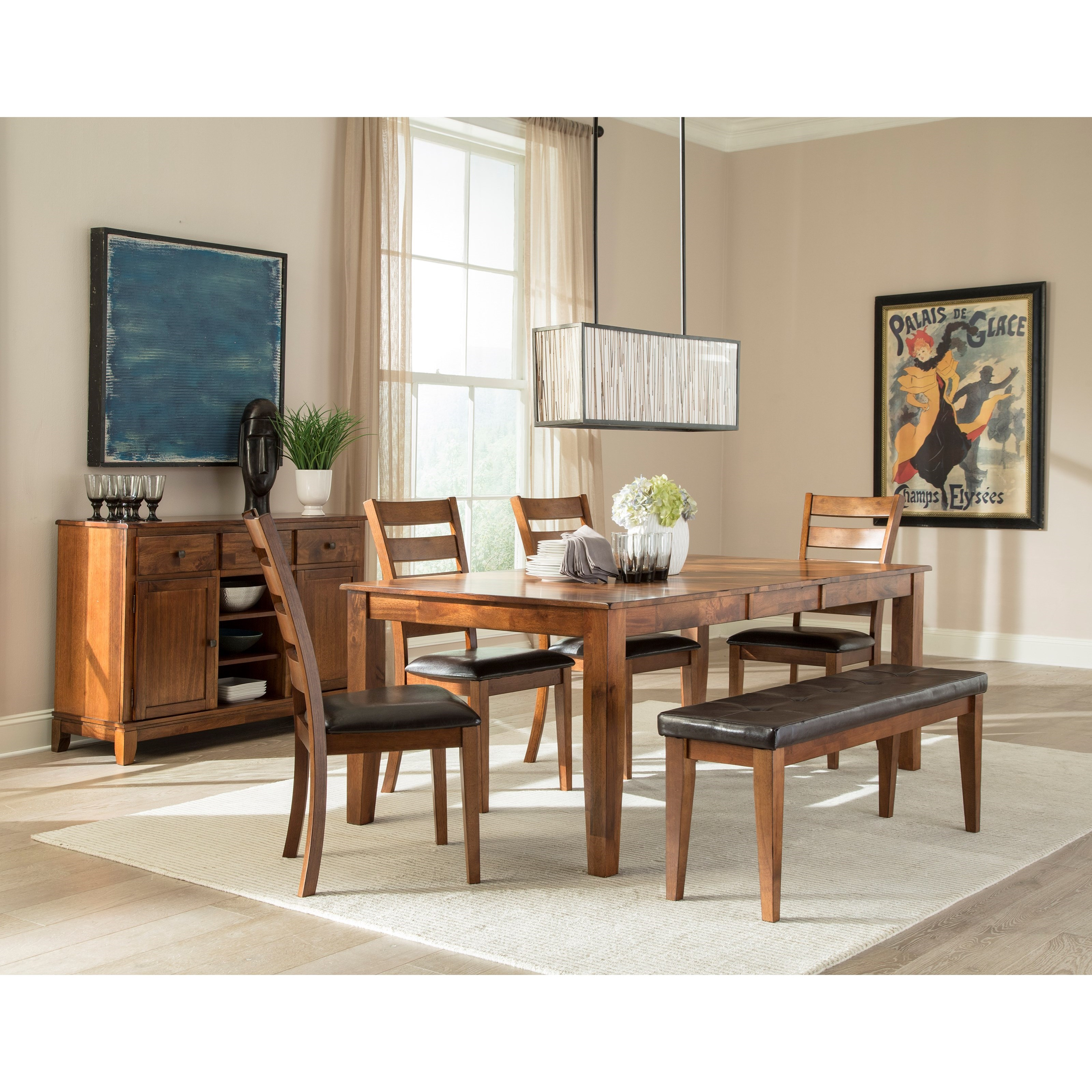 Kona Formal Dining Room Group by Intercon at Dinette Depot