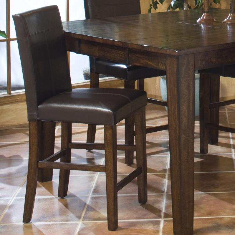 Intercon Kona Parson S Barstool With Upholstered Chair