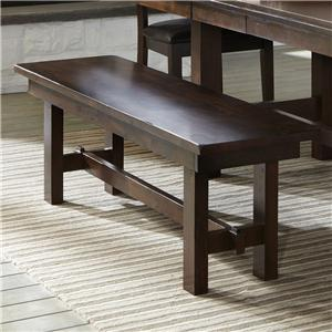 Belfort Select Cabin Creek Backless Dining Bench