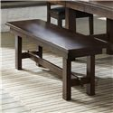 Intercon Kona Backless Dining Bench - Item Number: KA-CH-1560WB-RAI