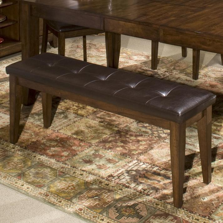 Intercon Kona Backless Dining Bench - Item Number: KA-CH-1650L-RAI-RTA