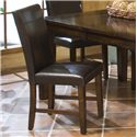 Intercon Kona Parson's Side Chair with Upholsered Seat and Front-and-Back Seat Back