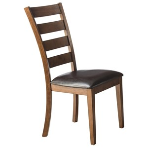 Ladder Back Dining Room Side Chair