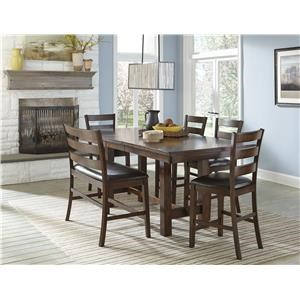 5 Piece Counter Height Table & Stool Set