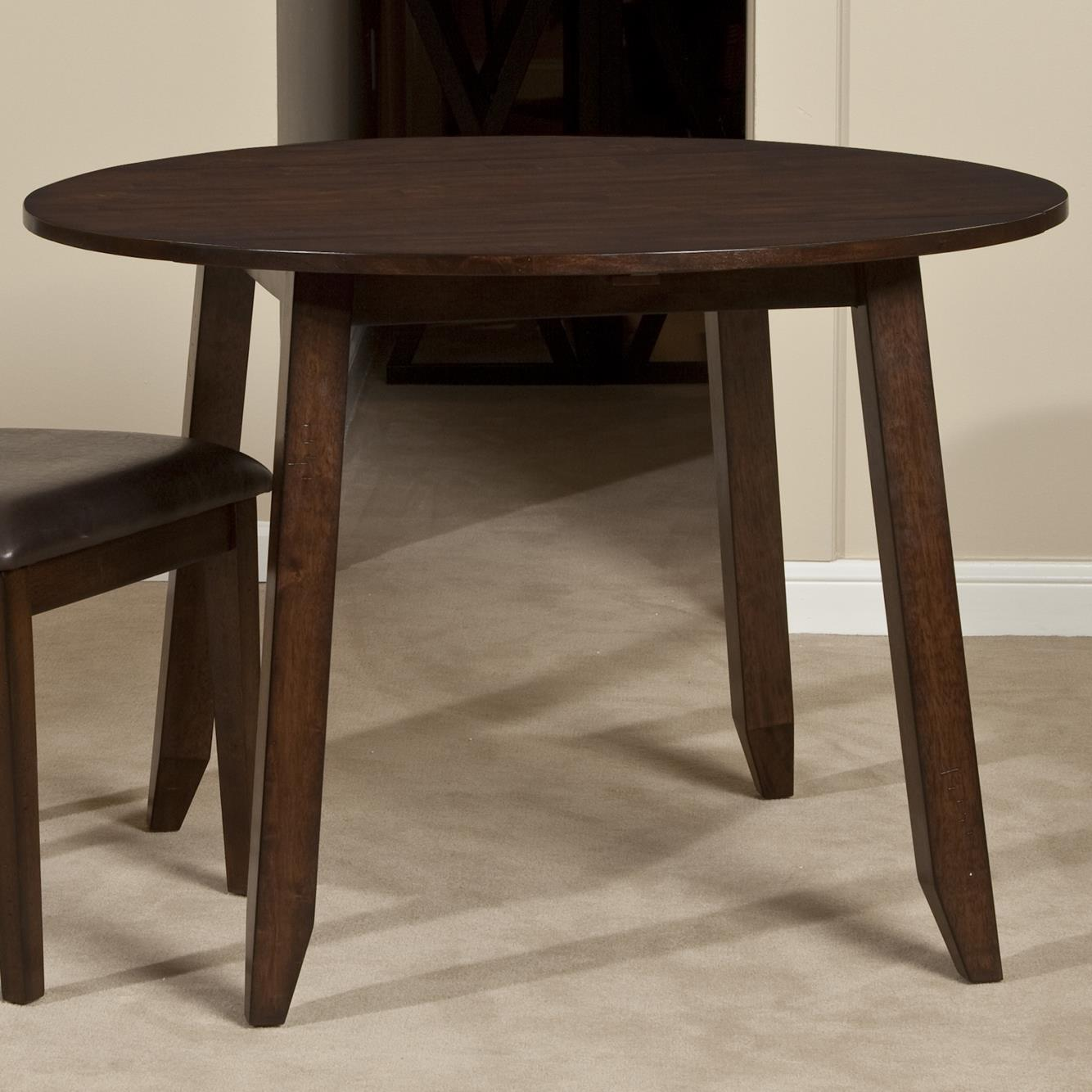 Cedar Round Log Dining Table Real Wood And 50 Similar Items: Belfort Select Cabin Creek Wooden Round Top Drop Leaf