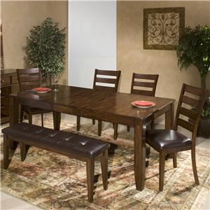 Intercon Kona 6 Piece Dining Room Set