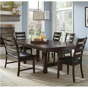 Intercon Kona Dining Set with Bench