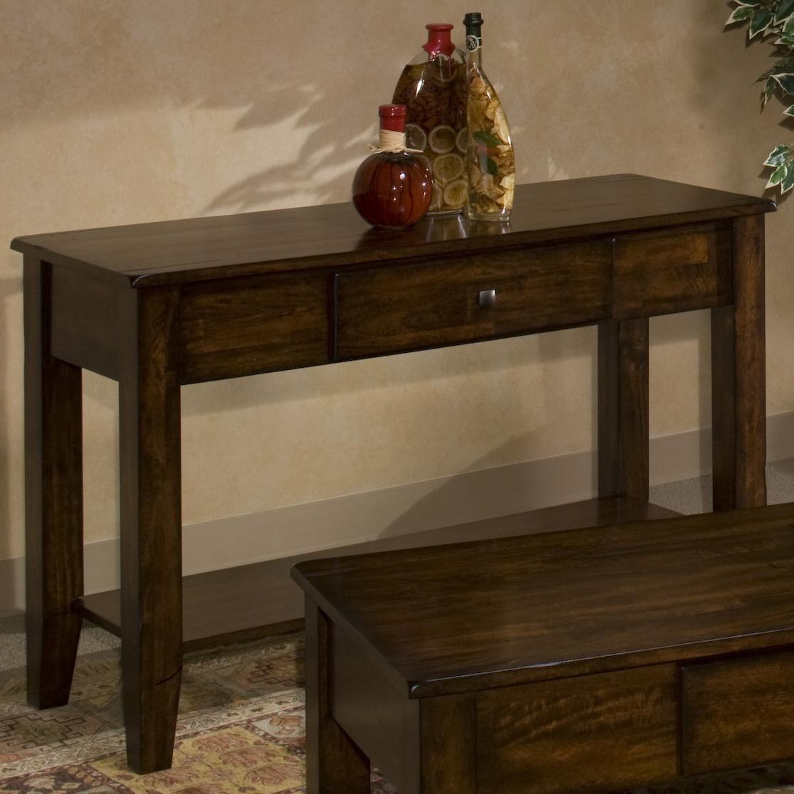 Intercon Kona Sofa Table - Item Number: KA-TA-4818S-RAI-C