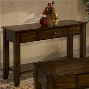 Belfort Select Cabin Creek Sofa Table