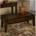 Intercon Kona Coffee Table - Item Number: KA-TA-4822-RAI-C