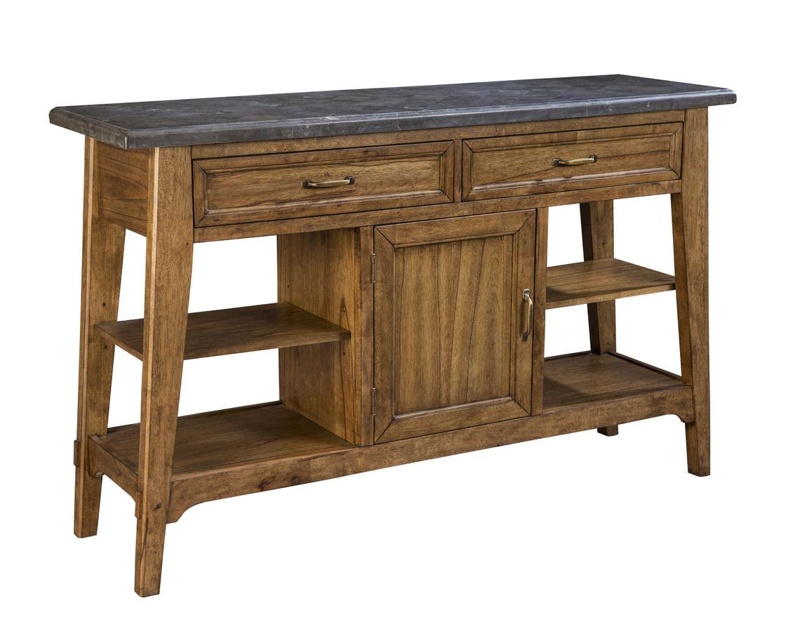 Intercon Lucca Buffet with Storage - Item Number: LU-CA-6218-RBS-C