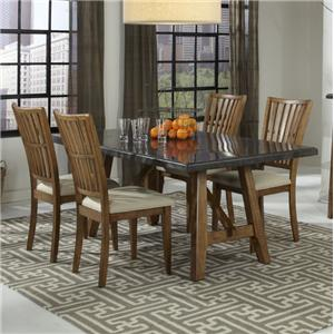 Belfort Select Bluemont 5 Piece Table and Chairs Set