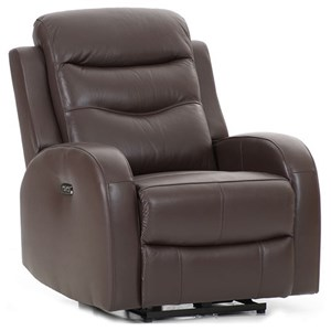 Contemporary Power Recliner with USB Port