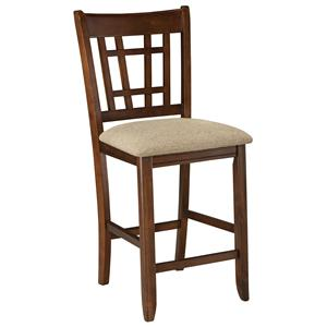 Intercon Mission Casuals 24 Lattice Barstool